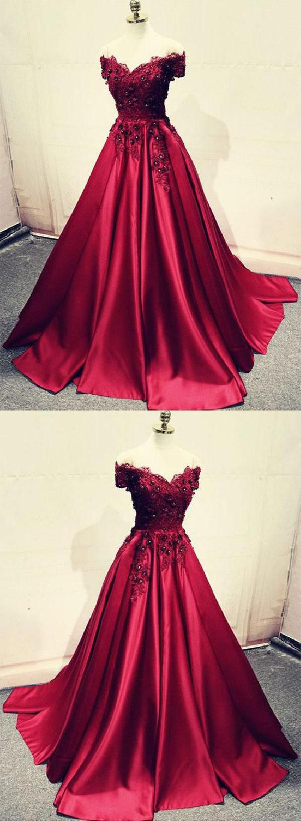 Comely long prom dress lace bridesmaid dresses burgundy prom dress