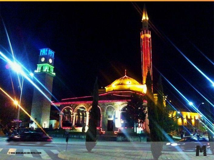 La Mezquita de Et'hem Bey en Tirana, Albania
