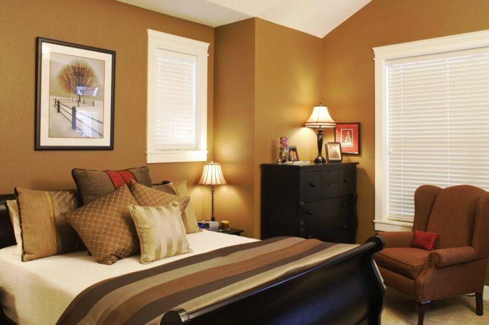 ▷ 1001 + idées déco pour créer sa feng shui chambre - couleur chaude pour une chambre