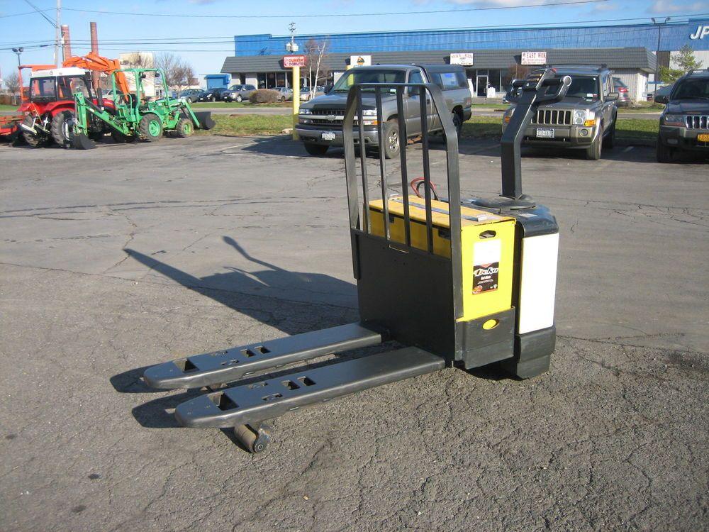 2003 Crown Forklift Electric 6000 Walk Behind Jack Load Backrest 48