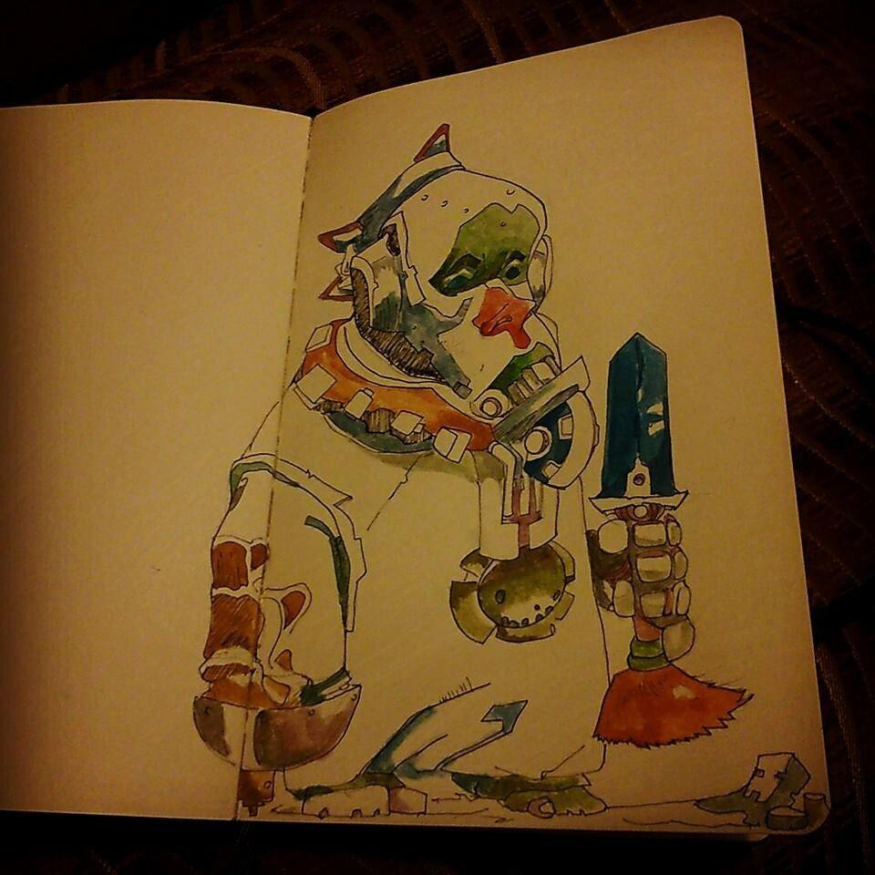 Retour en force ! #croquis #gollum #mondefeerique #monster #aquarelle #dessin #illustration #portrait #dessin #aquarelle #emotions #sentiment #moleskine #croquis #sketch #sketchbook #draw #drawing #illust #illustration #instaart #artsy #art #artist #artsy #artwork #style #artistique #paint #painting #creative #watercolor #color