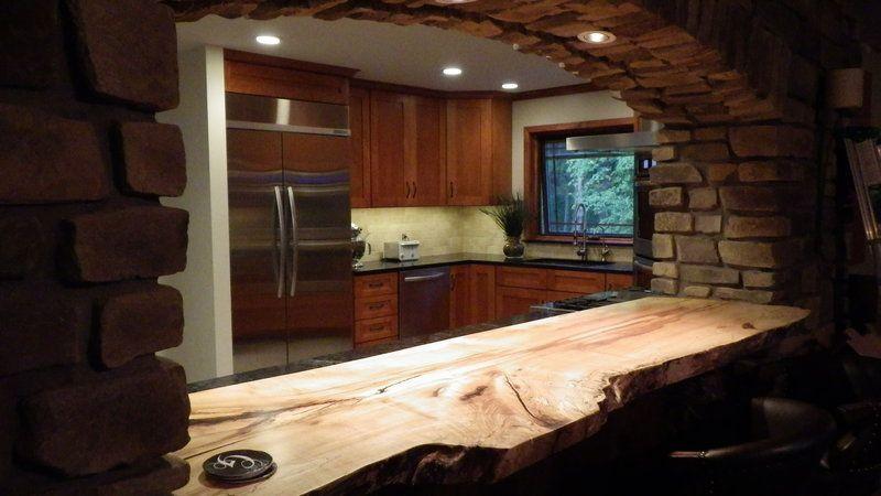 Natural Wood Countertops Live Edge Wood Slabs Littlebranch