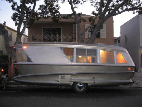 1960 8217 S One Of A Kind Prototype Trailer It Was For Sale On L A Craigslist For 135000 Vintage Travel Trailers Best Travel Trailers Vintage Camper