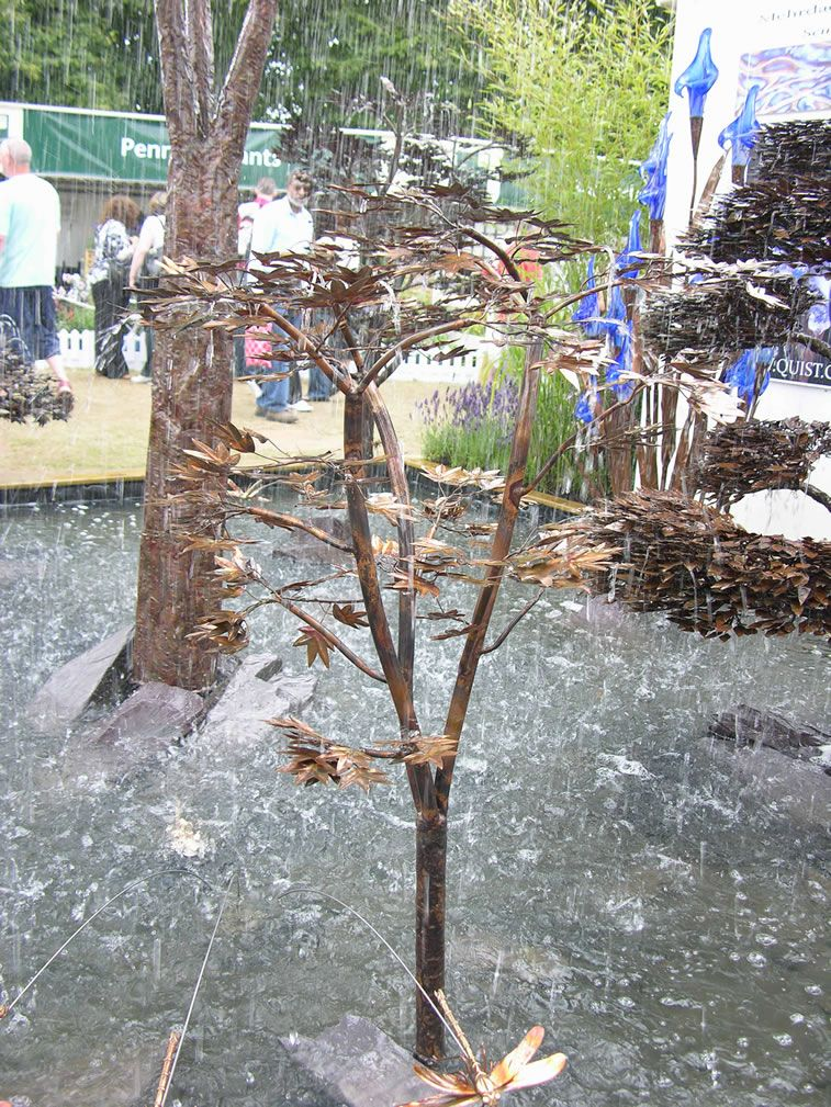 Copper Tree Water Feature   Google Search