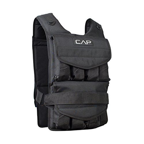 CAP Barbell Adjustable Weighted Vest, 100 lb CAP Barbell