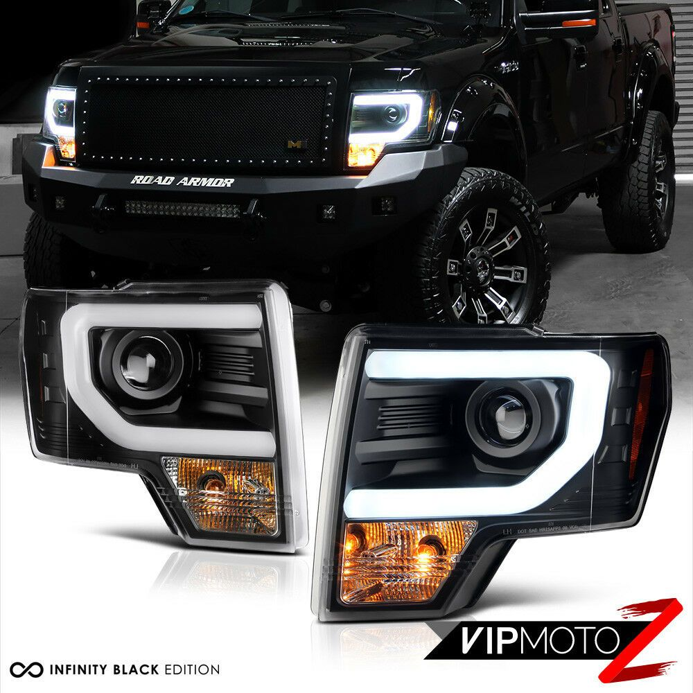 Details About 2009 2014 Ford F150 Quot Cyclop Optic Quot Led Tube