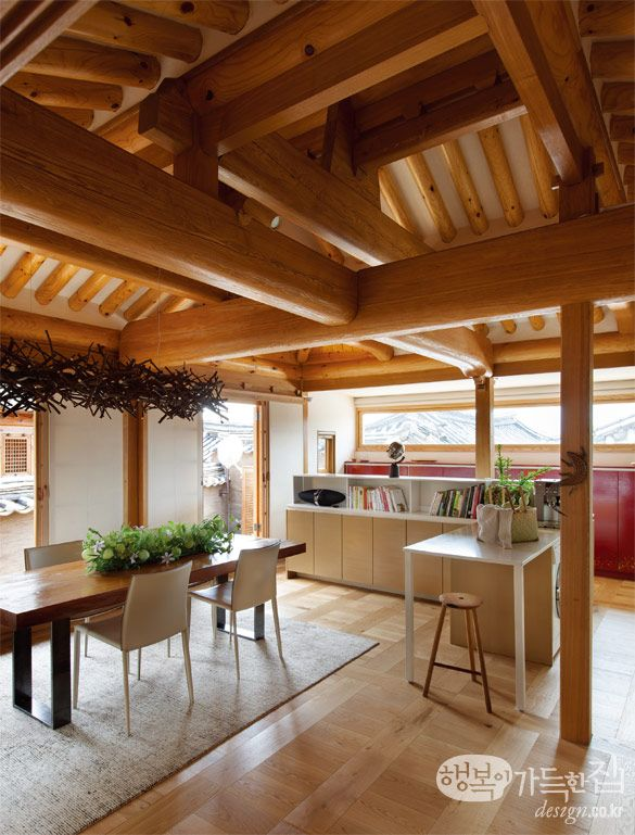Find house full of happiness hanok evolved traditions for Casa moderna corea