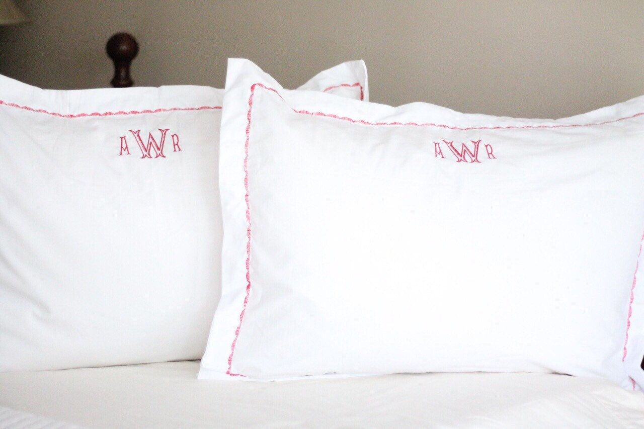 prep throw pillow personalized classic monograms unique pillows decoration decorative monogrammed cover with chevron