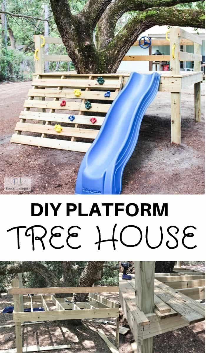 Photo of DIY Platform Tree House