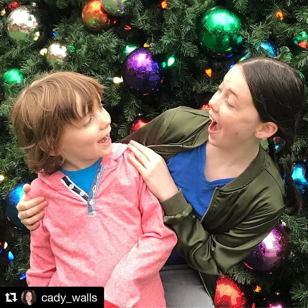 #Repost @cady_walls What does a #kidactor do on the first day of Winter Break? Film a commercial ...