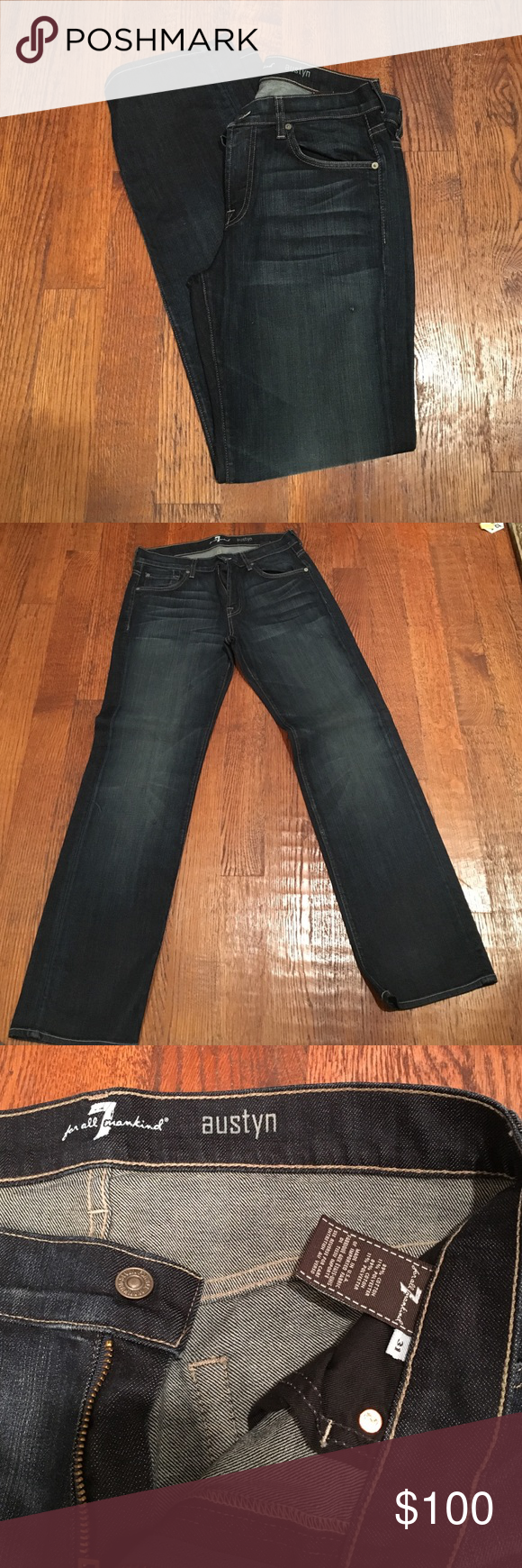 7 for All Mankind jeans 7 for All Mankind jeans. Size 31 7 For All Mankind Jeans