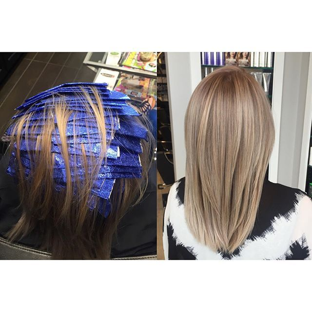 Cap Highlights Done On The 2 6 14 Hair Highlights Hair Hair Foils