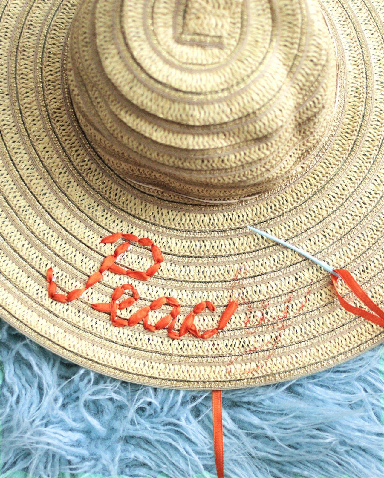 01f72cdb35326 DIY Embroidered Sun Hat