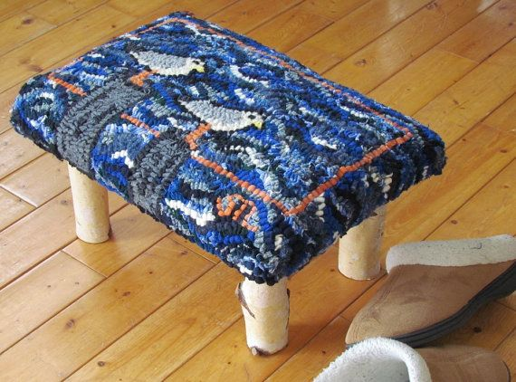 Astonishing Handmade Foot Stool Of Eco Friendly Birch Twigs By Pabps2019 Chair Design Images Pabps2019Com