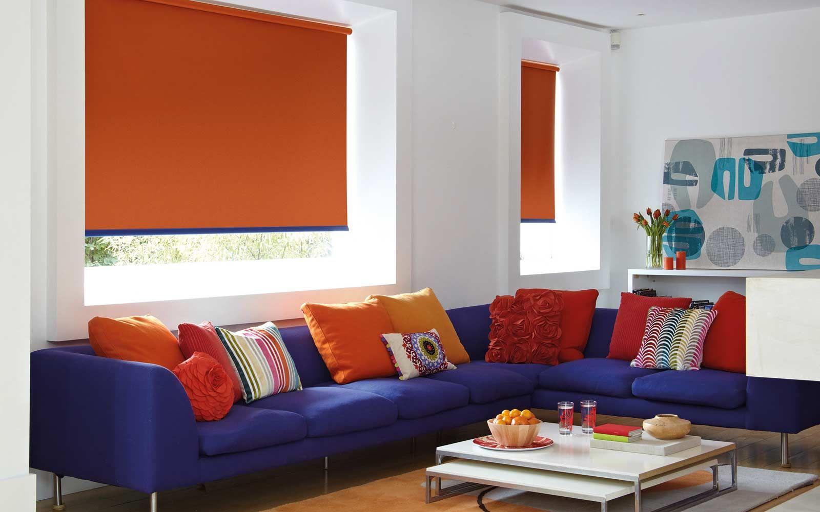Roller Badezimmermöbel ~ Protecting interior room from sunshine by installing roller blinds