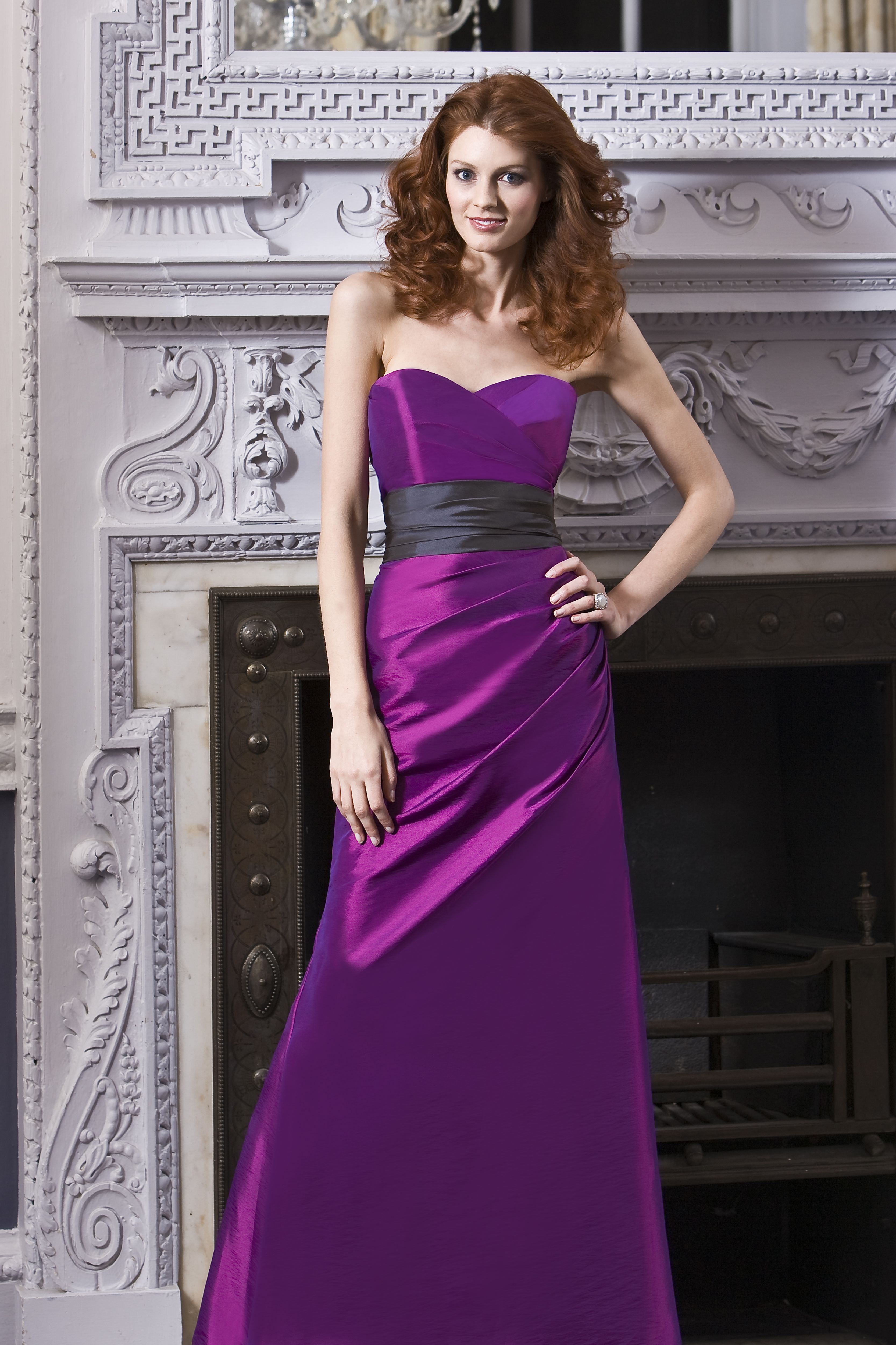Luna B - Lopez Strapless sweetheart bridesmaid dress with ...