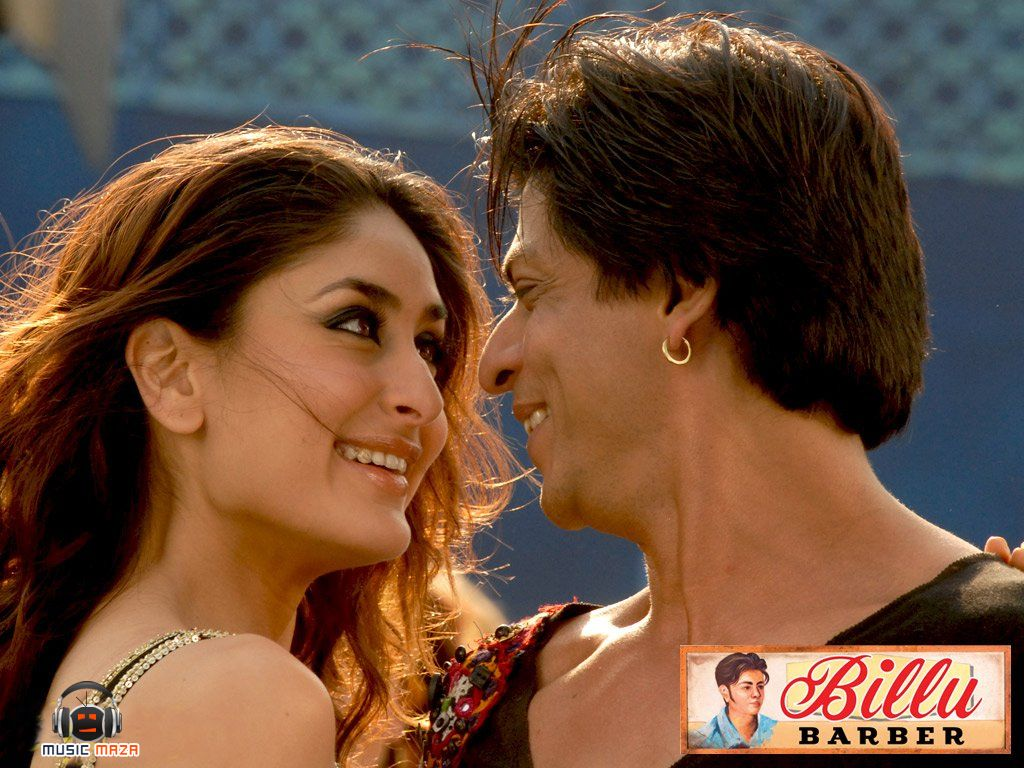 Kareena Kapoor Shahrukh Khan Bollywood Billu Barber Shah Rukh Khan Movies Shahrukh Khan Bollywood Actors