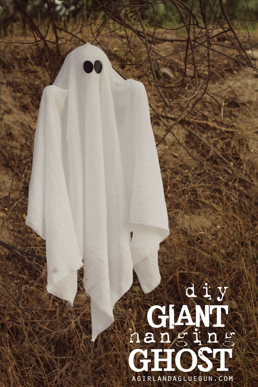 Make It Fun Crafts Giant Hanging Ghost Ghost Crafts Diy