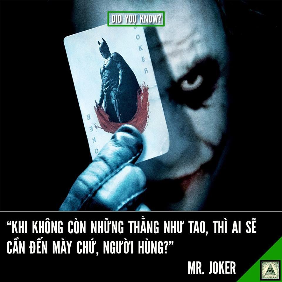 Kết quả hình ảnh cho những câu nói hay của joker