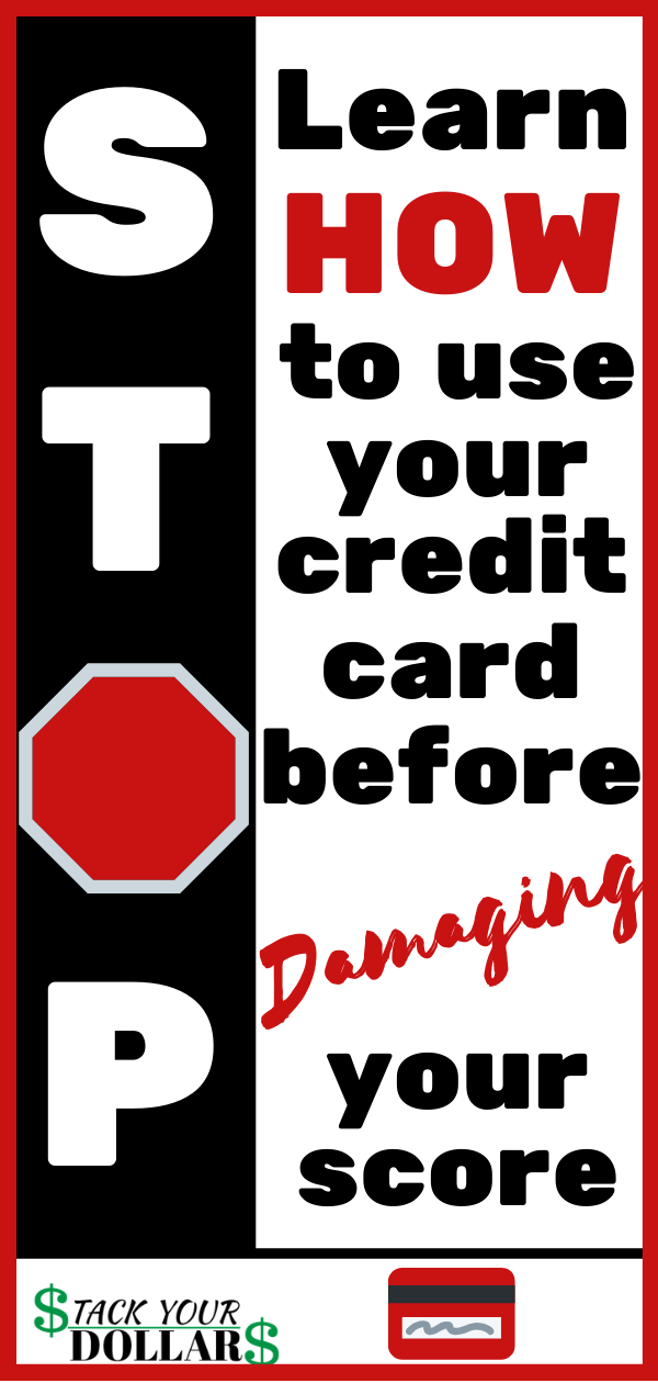 Nobody wants to deal with a damaged credit score. It's a pain to repair credit! If you are new to credit and need first credit card tips, check out this post. It is designed to teach you how to build credit history, use credit cards wisely, and raise your credit score fast. Responsible credit card use leads to an 800 credit score which opens up lots of possibilities for you, including getting the lowest interest rates for car loans, mortgages, etc.! #stackyourdollars #buildcredit #creditcards