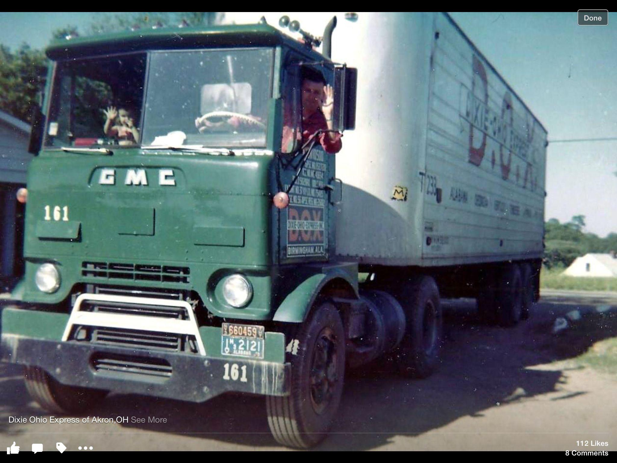 Dixie Ohio Express Vintage Trucks Truck Transport Cool Trucks