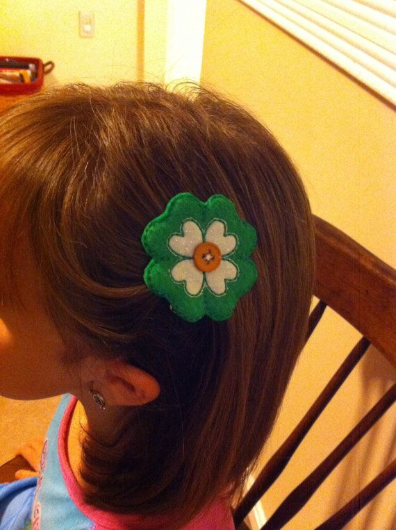 St Patricks day clip by CodiGirlCreations on Etsy, $3.50