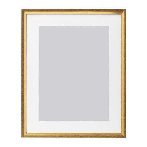 Silverhojden Frame Gold 16x20 Frames On Wall Wall Frames Frame