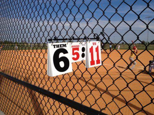 5286249ec1b50 ScoreStix Portable Baseball and Softball Team Scoreboards [Sports ...
