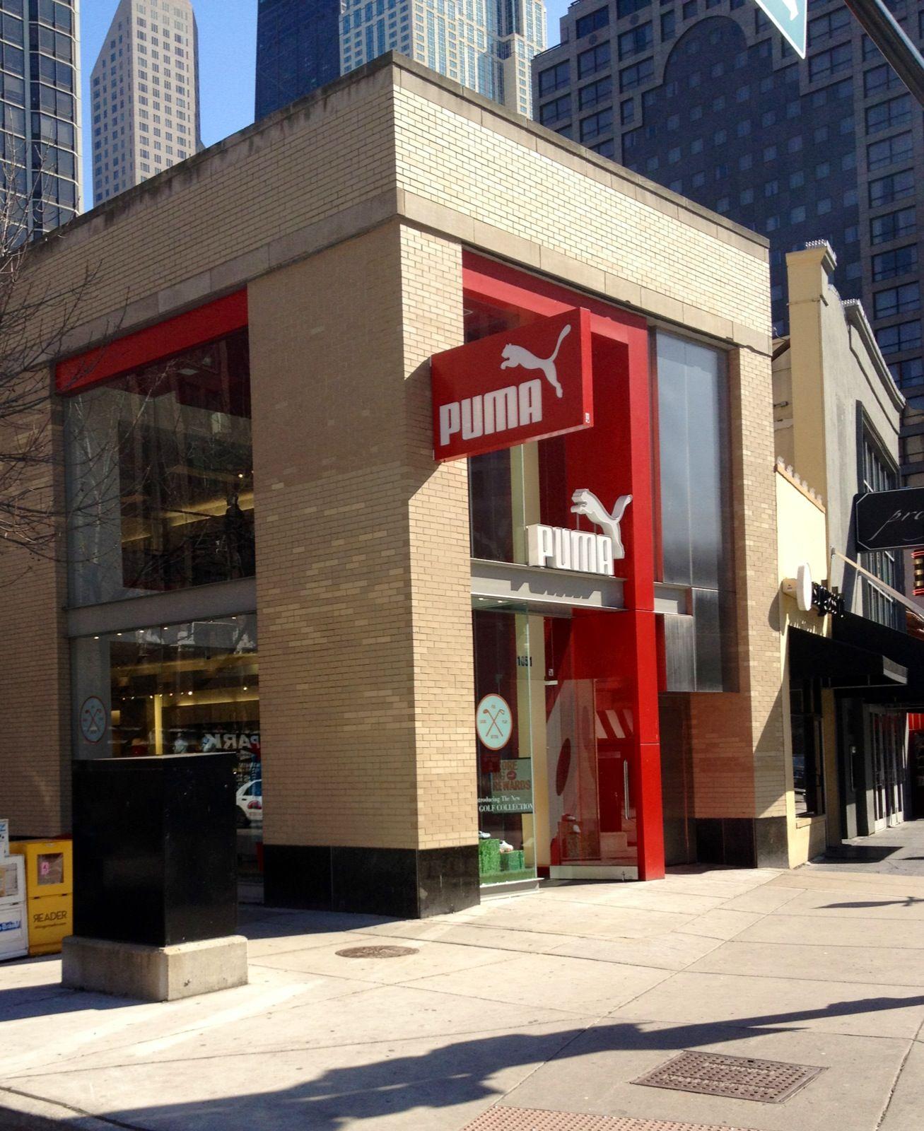 The PUMA Store on Rush Street, Chicago, IL #PUMA #retail #shopping