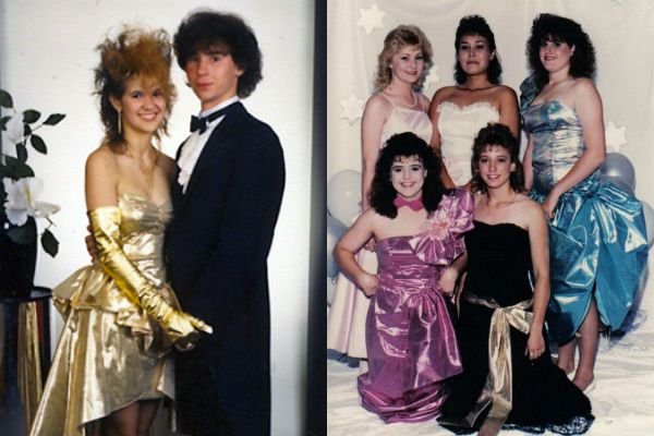 How to dress 1980s styles