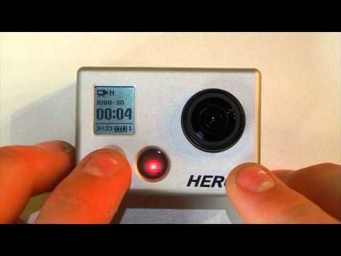 enable one button mode gopro tips  tricks  gopro gopro