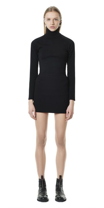 Balenciaga Staples Mini Skirt - Black - Discover the latest collection and buy online Women on the Official Online Store : Balenciaga.com