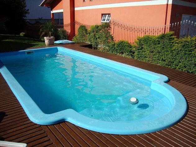 Projetos de piscinas de fibra Piscinas, Piscinas para patios