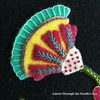 Telling Stories Through the Needle's Eye: Marcia's Flowers