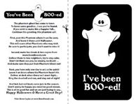 I've been Boo-ed