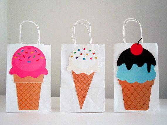 ice cream goody bags