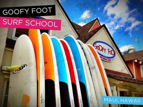 Goofy Foot Surf School Surf School Surfing Maui Activities