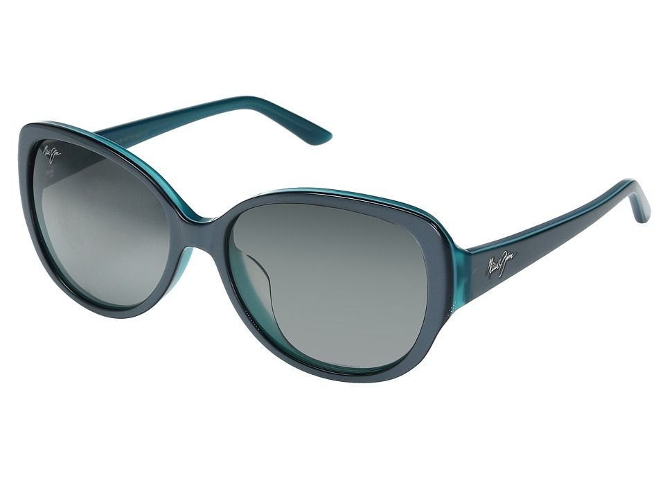 2e849a604 Maui Jim Swept Away Fashion Sunglasses Blue/Grey with Teal/Neutral Grey