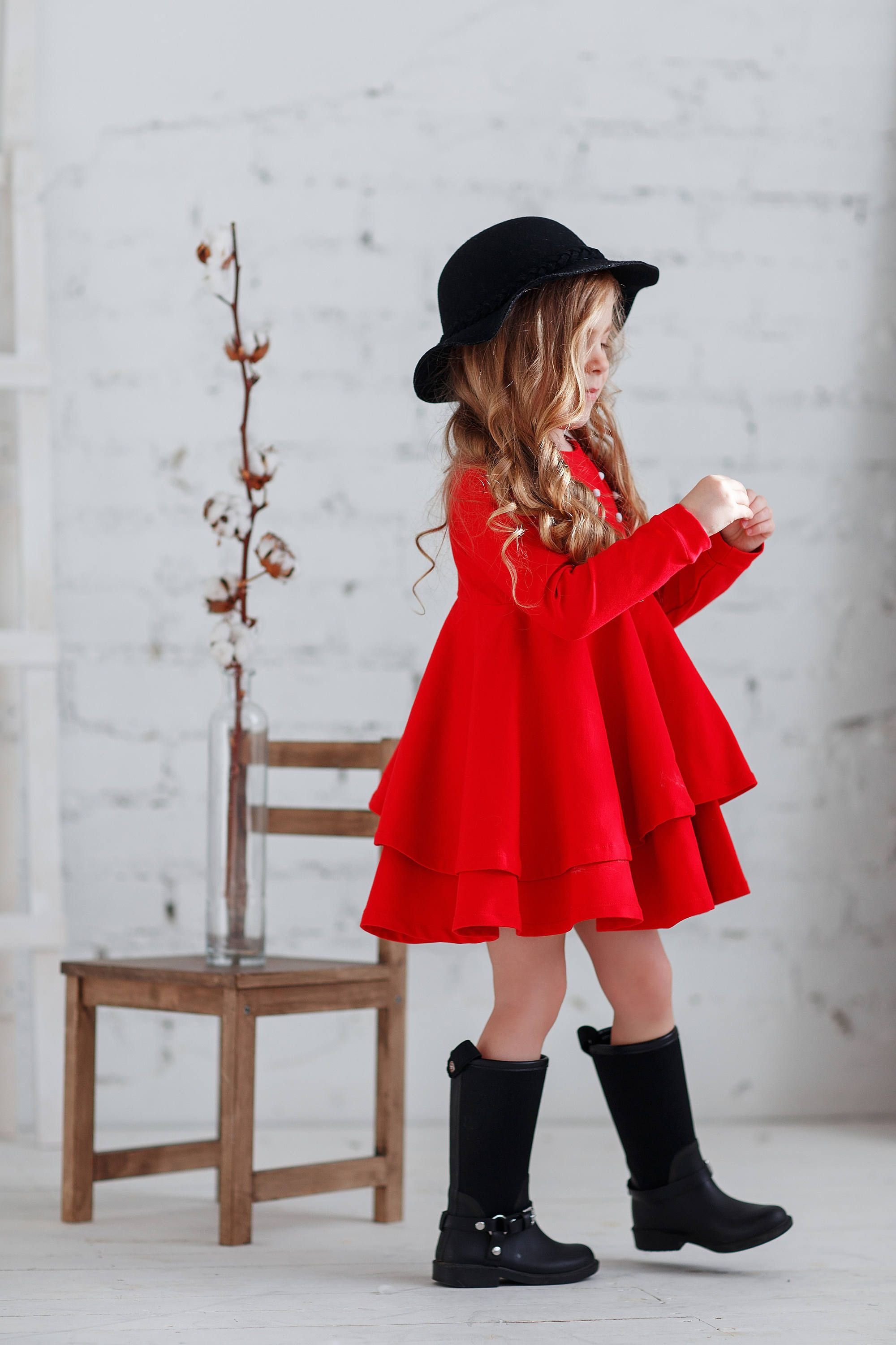 Red Cotton Girls Dress Christmas Red Toddler Dress Long Sleeve Etsy Red Toddler Dress Toddler Dress Kids Christmas Outfits [ 3000 x 2000 Pixel ]
