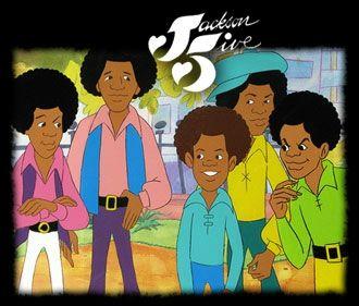 Jackson 5Ive Cartoon | The Jackson 5ive Cartoon
