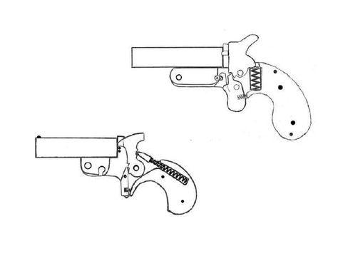 Diy Sheet Metal Derringers Practical Scrap Metal Small