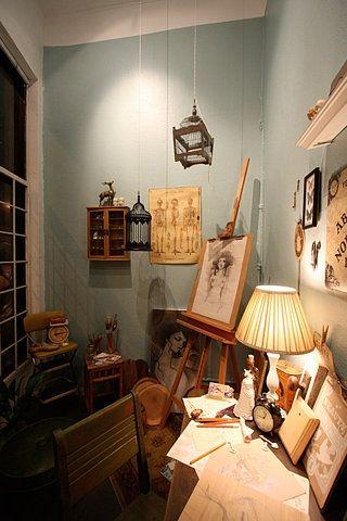 great art space. in fact, it's audrey kawasaki's.