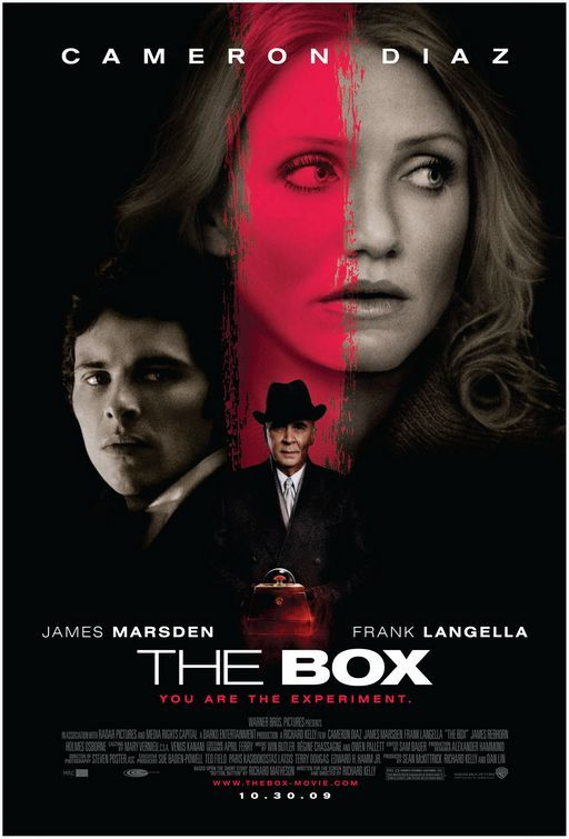 The Box Cameron Diaz James Marsden Frank Langella James Rebhorn