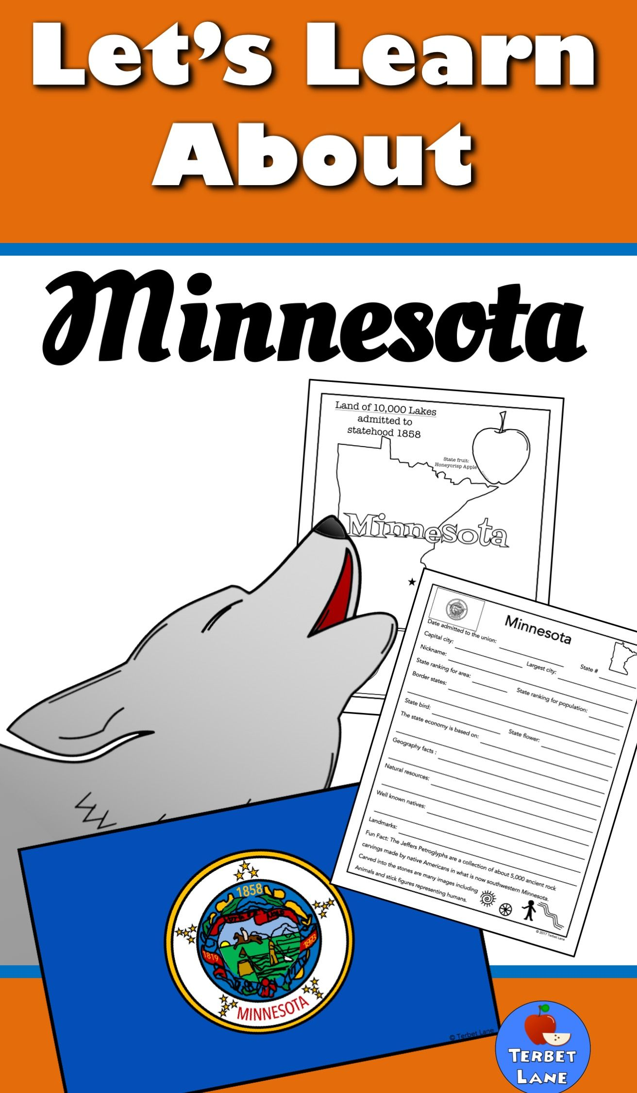 Minnesota History And Symbols Unit Study With Images