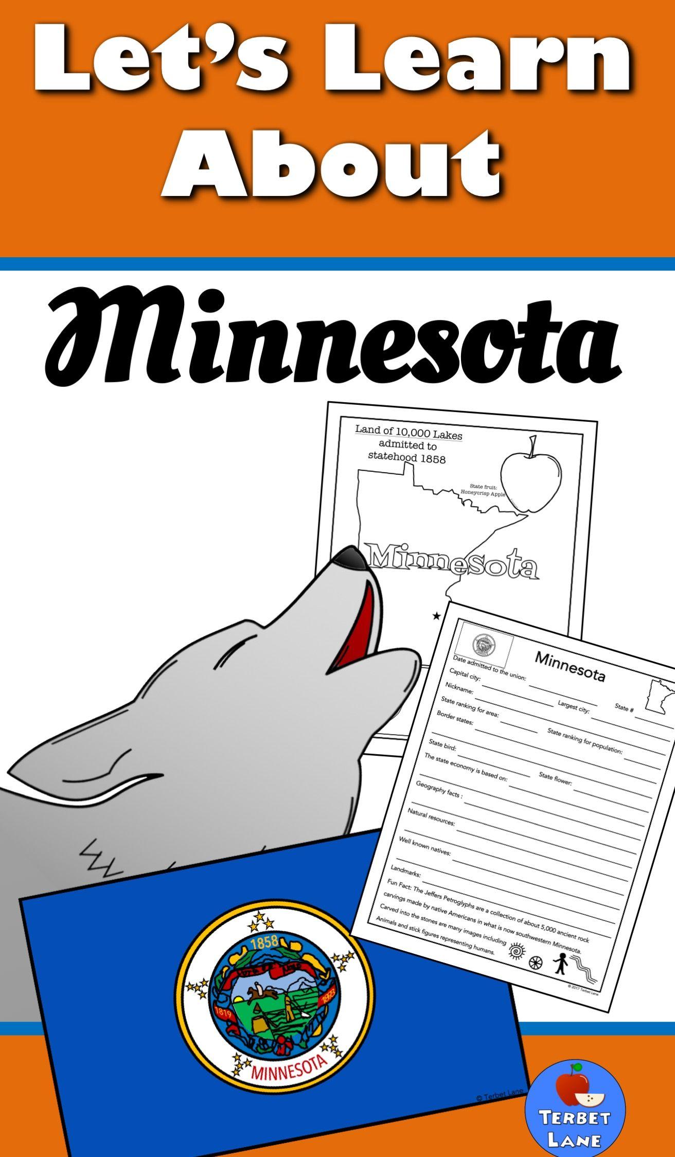 Minnesota History And Symbols Unit Study Terbet Lane On Tpt