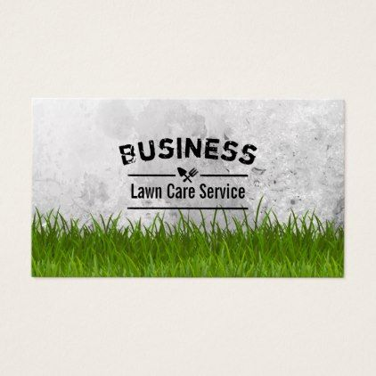 Professional Lawn Care & Landscaping Service Business Card is part of lawn Design Layout - Lawn Care & Landscaping Service Professional Business Card