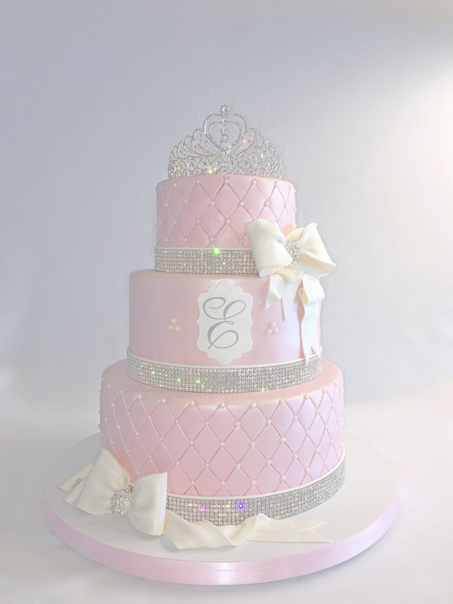Tiara Cake Sweet 16 Bling