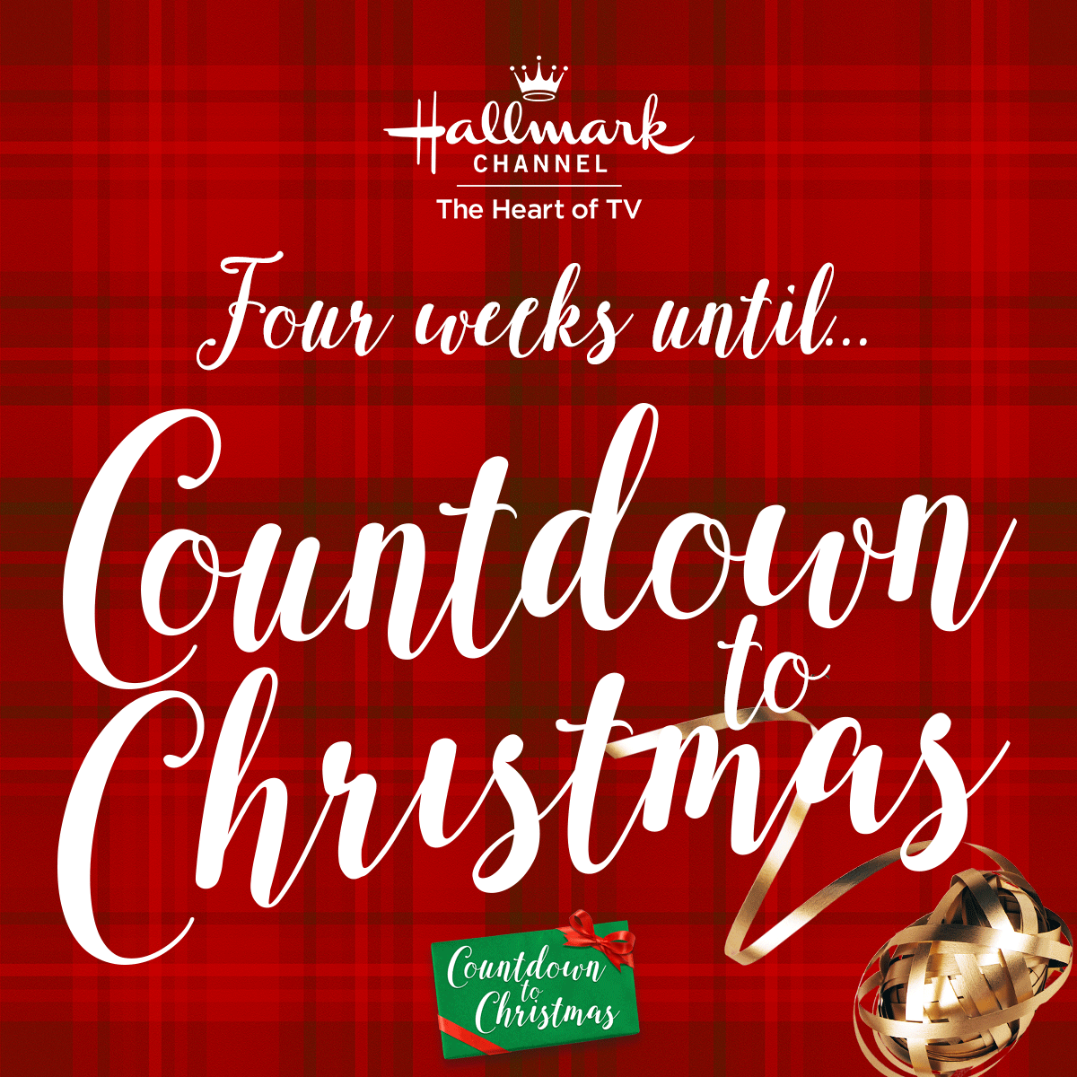 four weeks until hallmark channels countdown to christmas