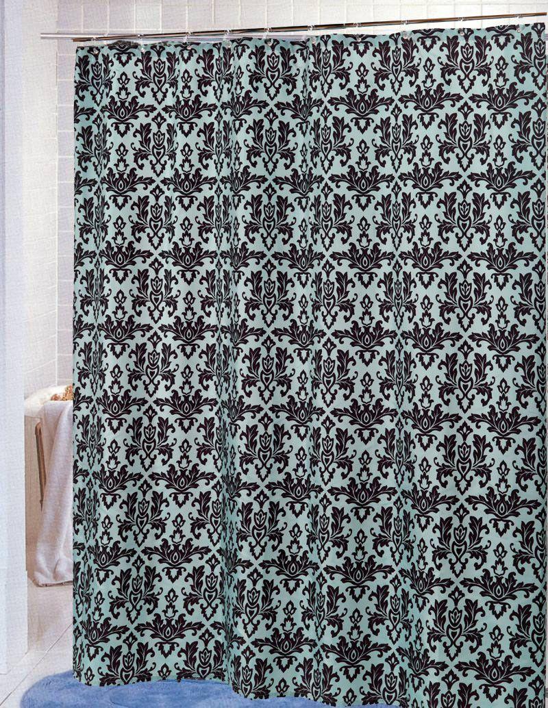 Bognor Regis Polyester Single Shower Curtain Fabric Shower