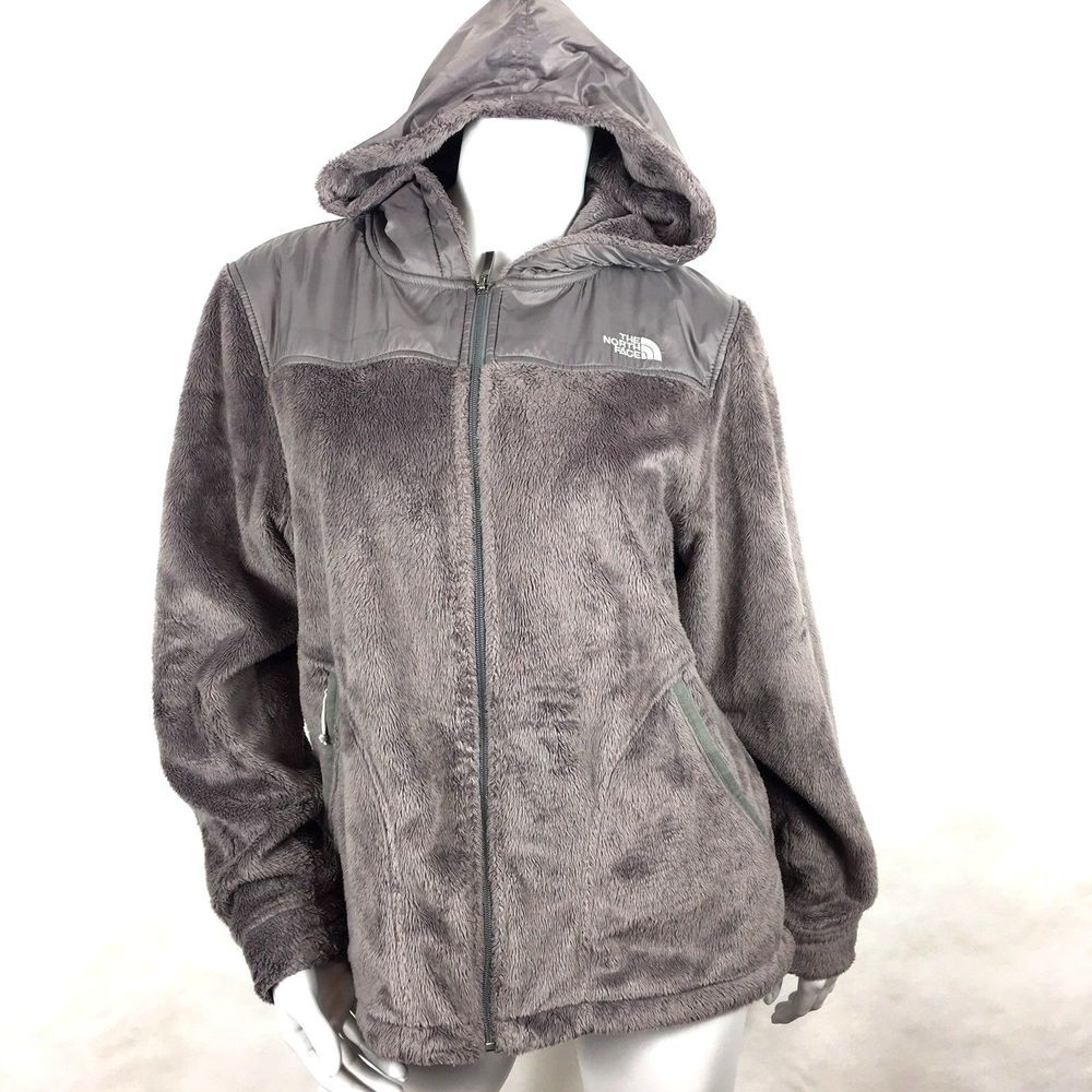 The North Face Women S Size Large Gray Oso Fleece Hoodie Jacket Fuzzy Ebay Fleece Hoodie Jacket Fleece Hoodie Hoodie Jacket [ 1000 x 1000 Pixel ]